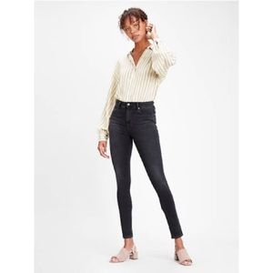 Levi's 721 High Rise Skinny Dark Wash